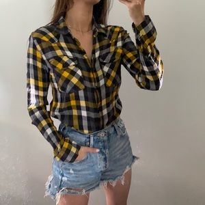Hurley | Flannel Button Up Shirt